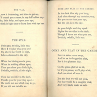"""""""The Star""""/ """"Come and Play in the Garden,"""" p. 10-11"""
