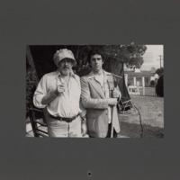Photograph on the set of California Split, 1974.