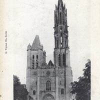 Senlis - La Cathedrale, Hauteur de la Fleche: 78 metres