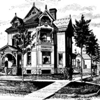 Residence of John Caulfield - 110 Sheldon Street - Built in 1885-86