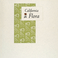 CA flora cover