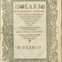 Bordone, 1534 (Title Page)