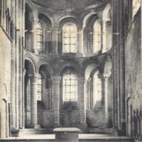 La Normandie 850. Caen - Abbaye aux Dames Abside et Tombeau de la Reine Mathilde