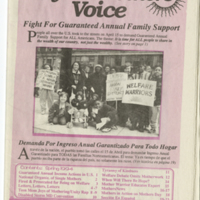 Welfare Mothers Voice