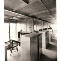 The Old Library, Stacks Carrels, 1919
