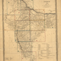 India XIII : index map