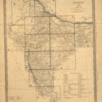 India XIII : index map
