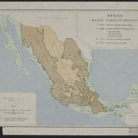 Mexico Major Terrain Regions