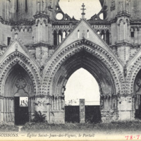31 Soissons - Eglise Saint-Jean-des-Vignes, le Portail