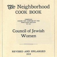 The Neighborhood Cook Book