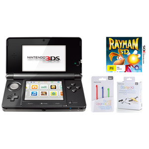 3DS and Rayman cover