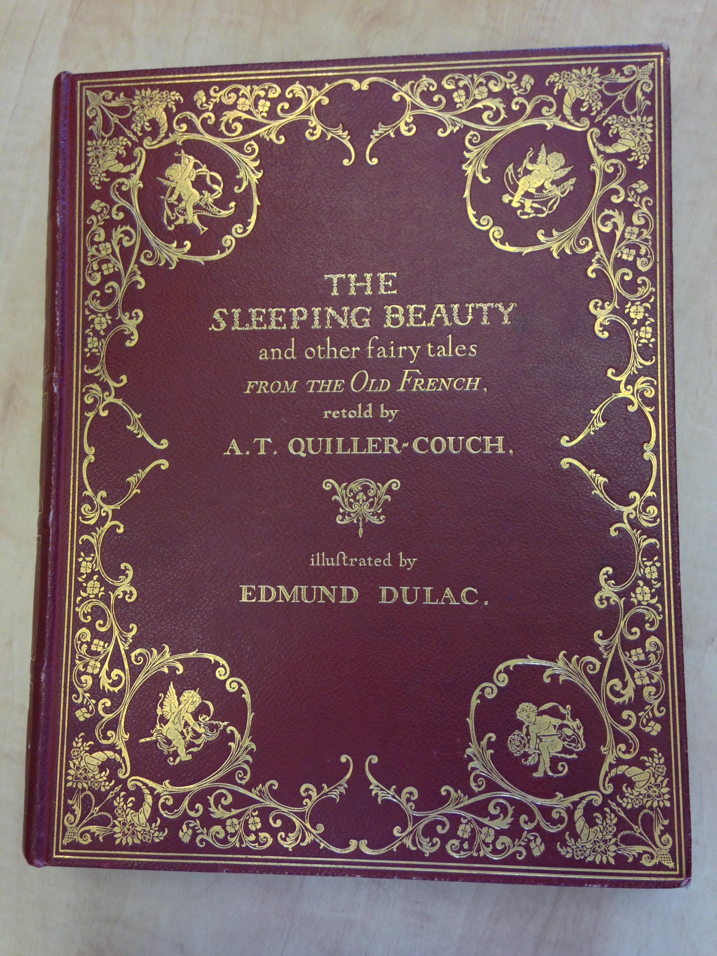 Binding of The Sleeping Beauty
