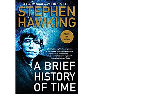 A Brief History of Time book cover image