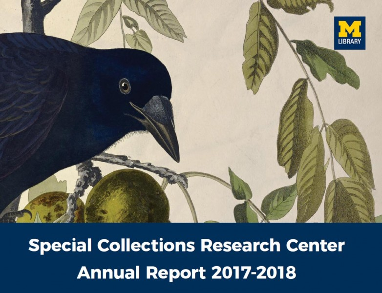 Special Collections Research Center Annual Report 2017-18