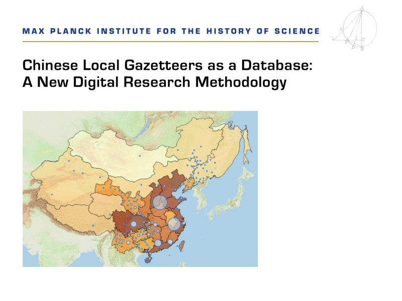 Picture of map from Max Planck Institute web site
