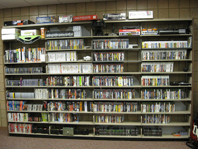 Archive shelves