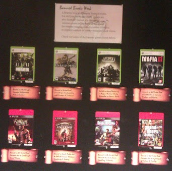 Banned Games display