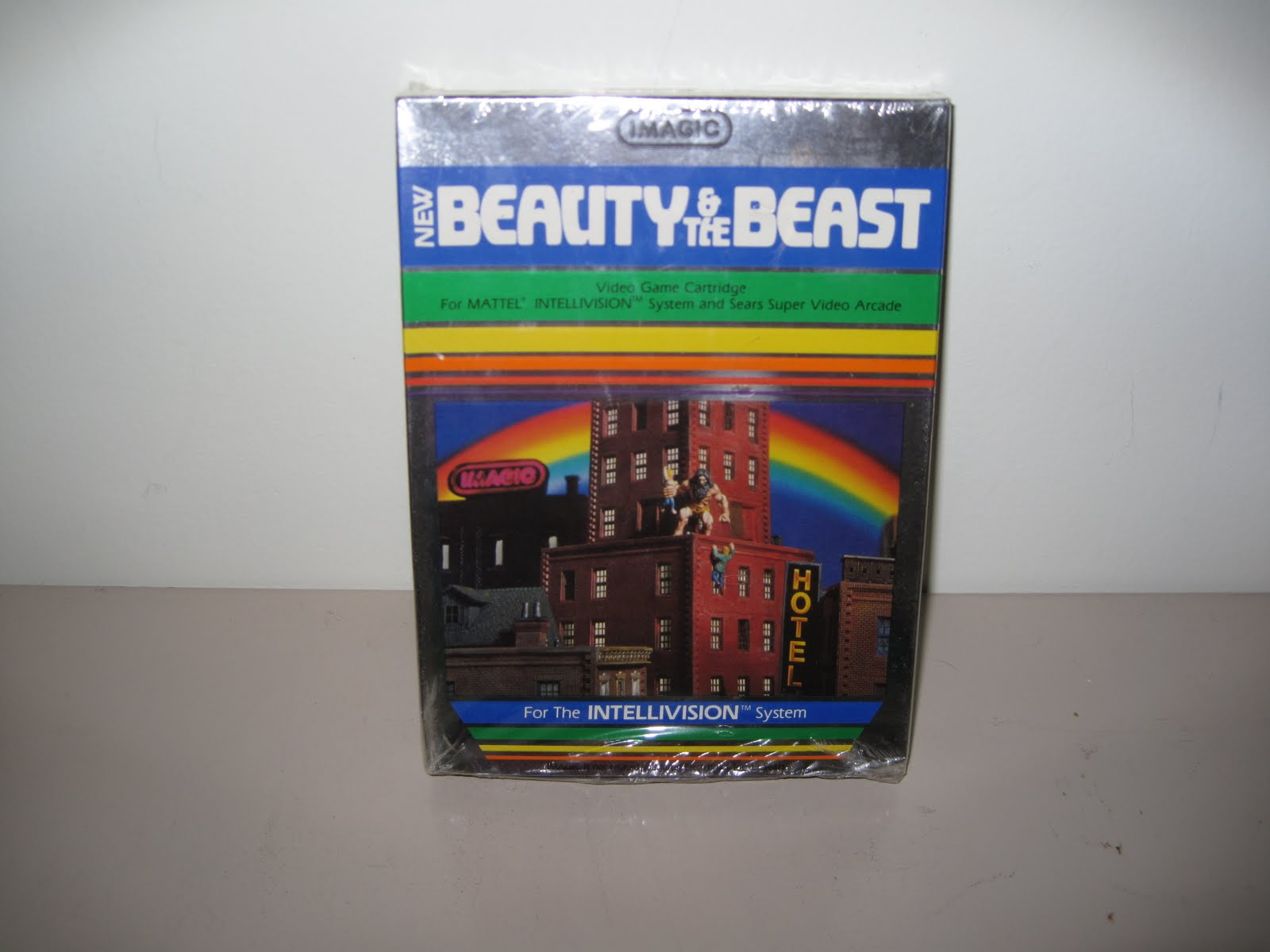 Beauty and the Beast game cover
