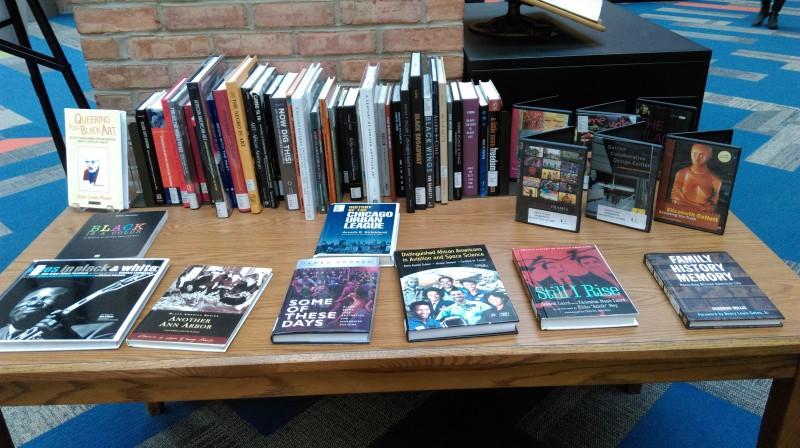 Black History book display