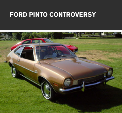 Ford Pinto Controversy