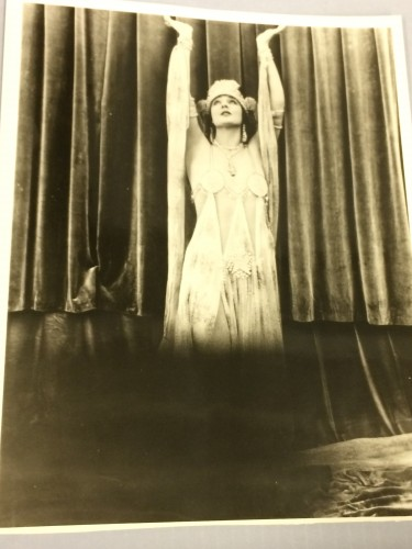 Photo of actress Betty Blythe in costume