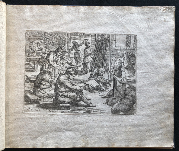 The Artist Workshop. Odoardo Fialetti.  Il vero modo et ordine per dissegnar tutte le parti et membra del corpo humano (The Accurate Technique and Order to Draw the Parts and Members of the Human Body)Venice: Remondini, ca. 1700s