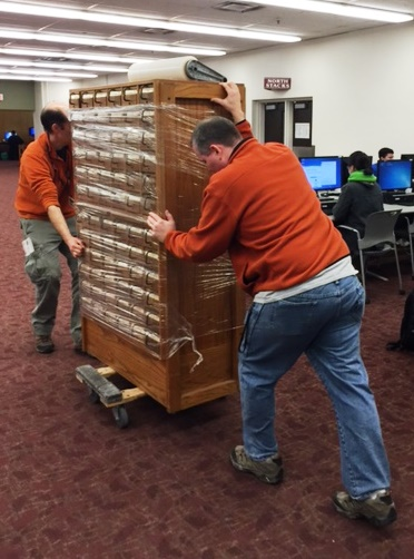 Moving the card catalog