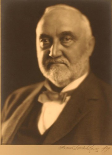 Portrait of Francis Wiley Kelsey from the Kelsey Museum Archives