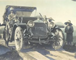 From Motor Days in Japan, 1917. Part of the Transportation History Collection