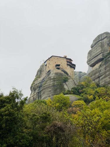 Monastery of St Nicholas Anapausas in the Meteora