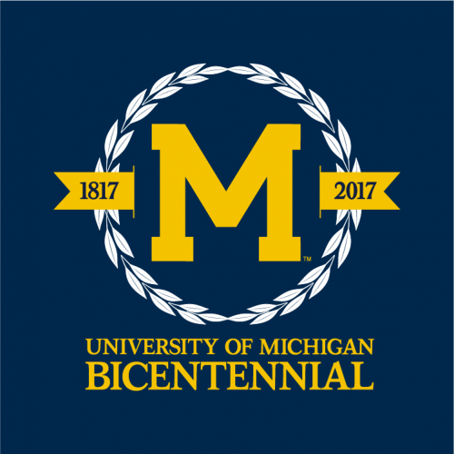 Logo for U-M Bicentennial