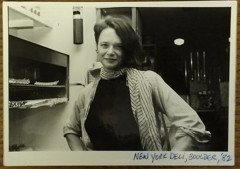 Photograph of Anne Waldman