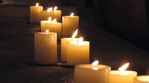 photograph of candles