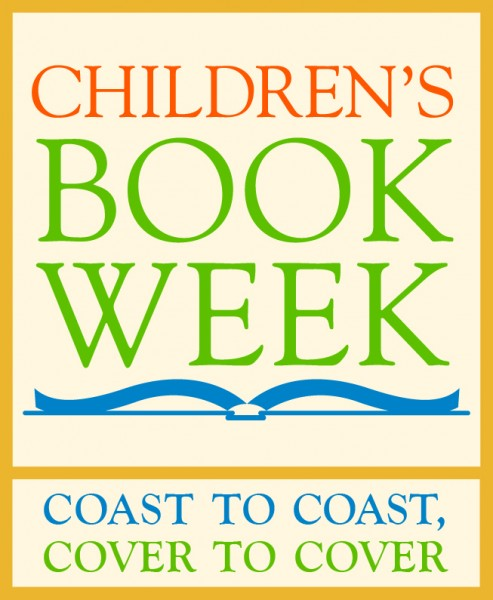 Logo: Children's Book Week. Coast to Coast, Cover to Cover