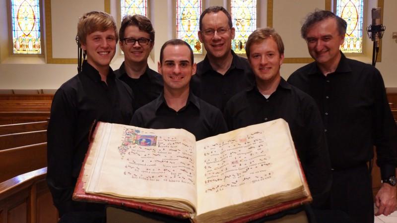 From left to right: Adam Wills Begley, Noah Horn, Austin Stewart, Glenn Miller, Matthew Abernathy, and Dr. Stefano Mengozzi.
