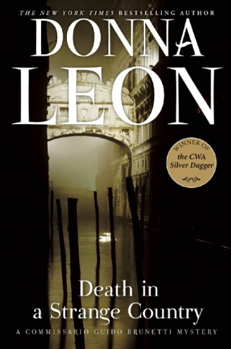 Cover of Death in a Strange Country by Donna Leon