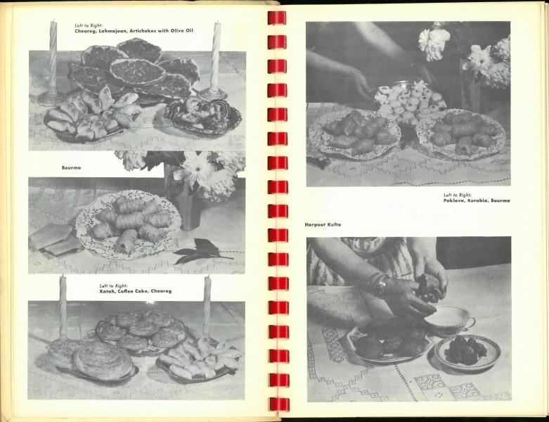 Photographs of Armenian foods