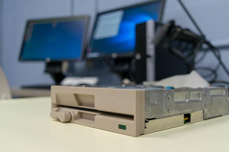 Artsy floppy disk
