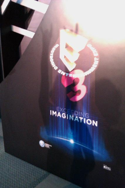 E3 Conference sign