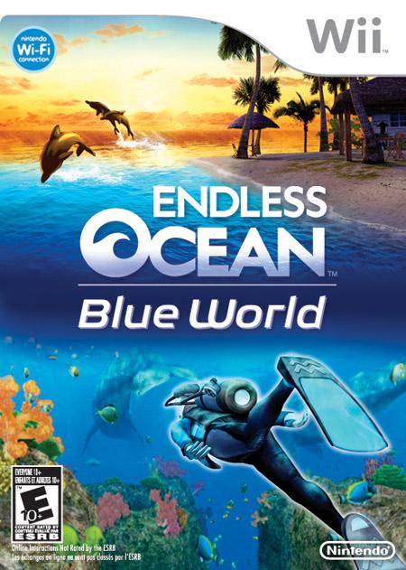Endless Ocean game cover