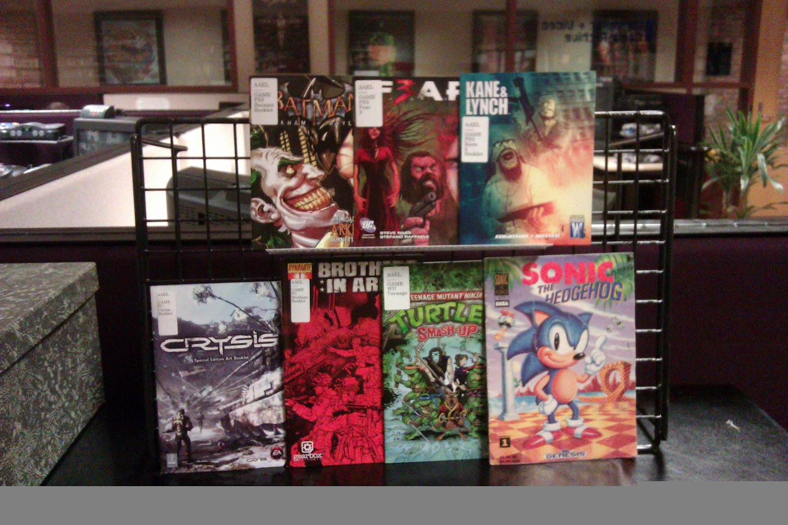 Game Ephemera display