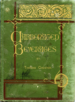 Book cover, green with fancy gold lettering and black and gold designs