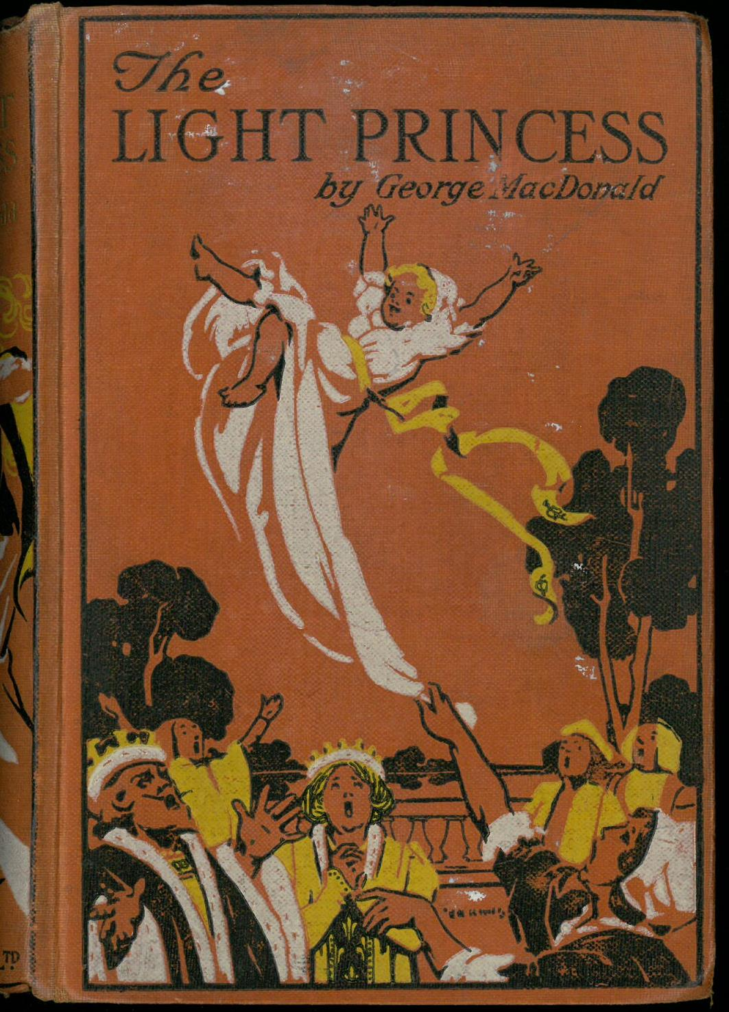 1890 edition of The Light Princess and Other Fairy Stories, published by Blackie and Son Limited. Special Collections Children's Literature PR4967 .L54 1890