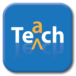 Teaching and technology collaborative icon