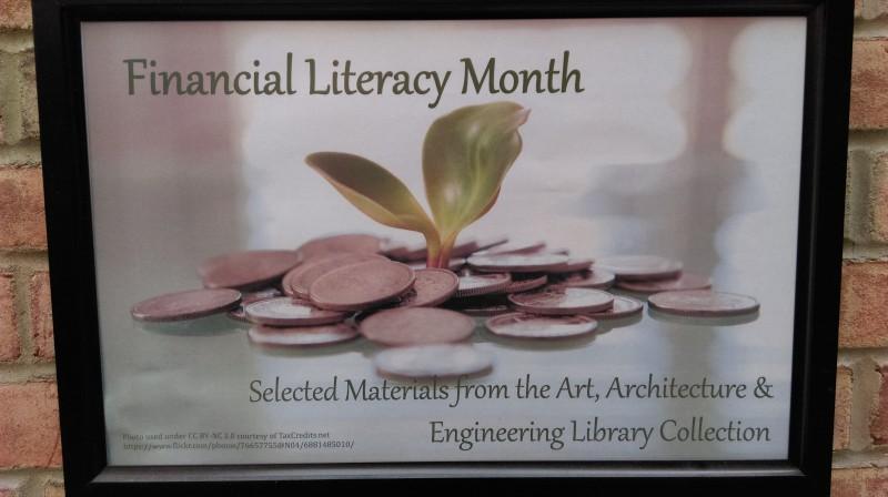 Financial literacy display