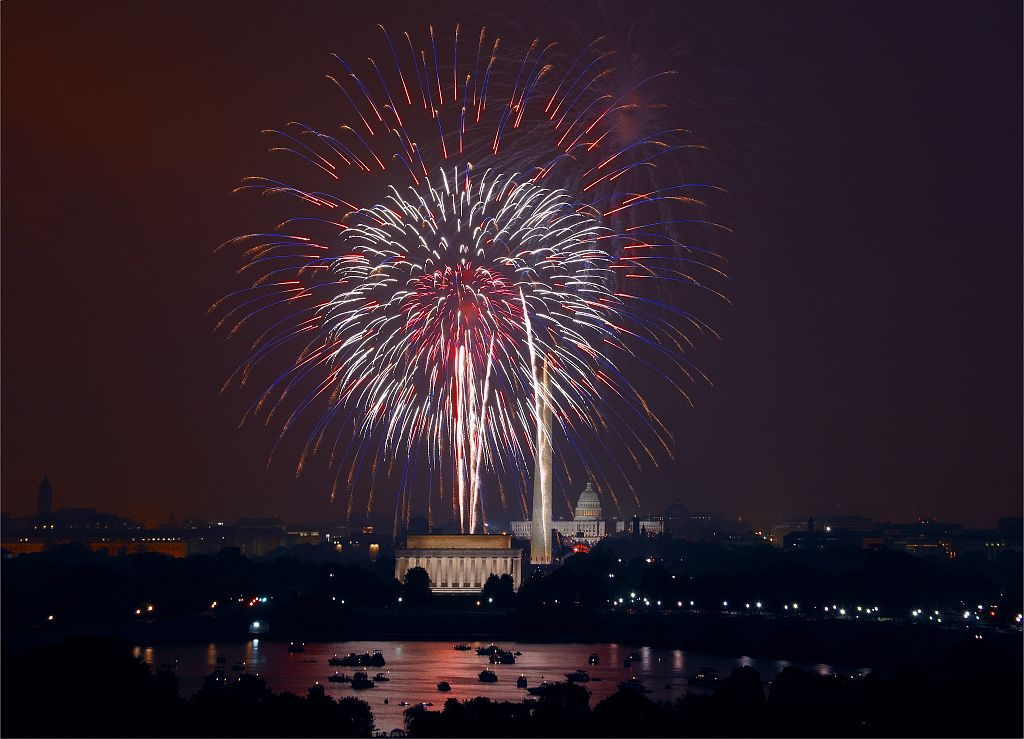 July 4th Fireworks, Washington, D.C. (2008)