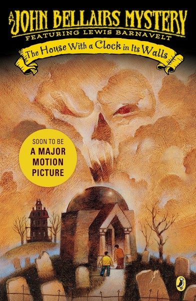 Cover of The House with a Clock in Its Walls by John Bellairs