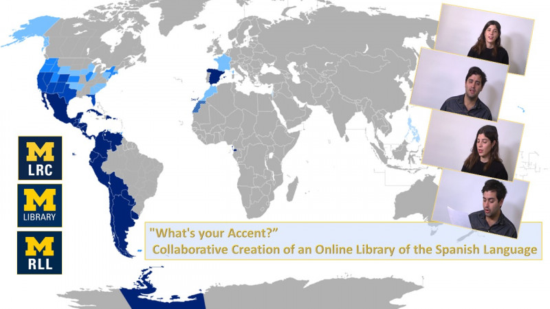 Image showing Spanish speaking parts of the world