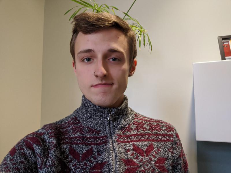 headshot of Logan Burley