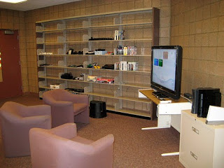 Archive shelves 2008